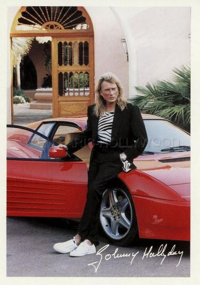 Une Ferrari de Johnny Hallyday en vente chez Osenat