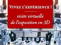 Vivez l'expérience ! Visite virtuelle de l'exposition en 3D