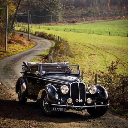 1938 - Delahaye 135 M Cabriolet Chapron