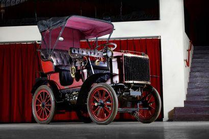 La Gardner Serpollet à vapeur de 1902 vendue 276 000 euros aux enchères