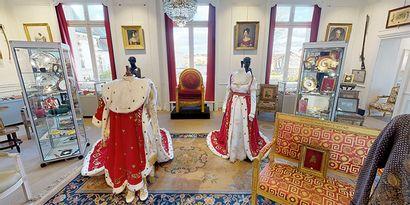 L'Empire à Fontainebleau - Visitez l'exposition chez vous !