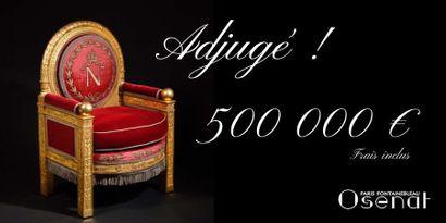 Le « fauteuil de trône » vendu 500 000 €