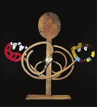 Une lampe de Niki de Saint-Phalle en vente chez Osenat à Fontainebleau