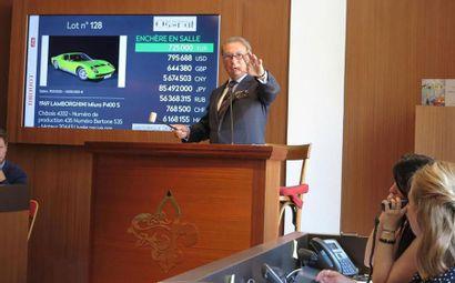 Vente automobiles de collection : 2 500 000 € Adjugés