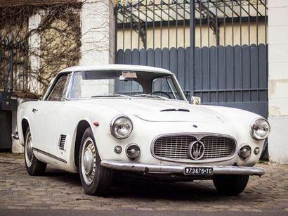 Une Maserati en état d'origine exceptionnel aux enchères à Fontainebleau