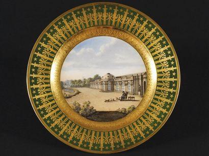 Célébration du bicentenaire de la mort de Napoléon Ier à Fontainebleau
