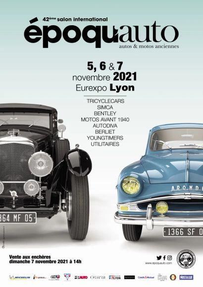 Epoqu'Auto 2021, programme pour la 42e édition