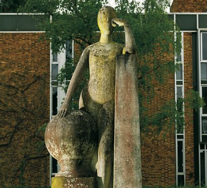 Les Lalanne à Fontainebleau : Antique Trade Gazette en parle