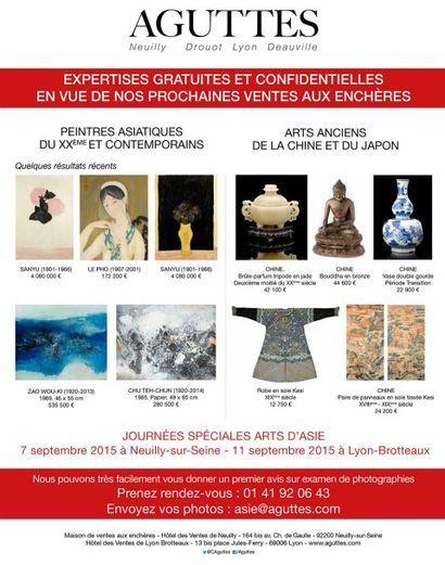 Expertises gratuites Arts d'Asie