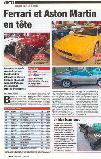 Ferrari & Aston Martin en tête