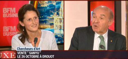Charlotte Reynier Aguttes sur BFM TV revient sur sa belle vente du Juin marquée par les SANYU