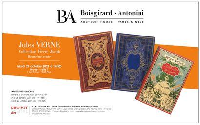 JULES VERNE - Collection Pierre jacob - Deuxième Vente
