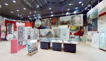 Visite virtuelle de l'exposition de l'atelier Kristine TISSIER - Drouot Salle 5
