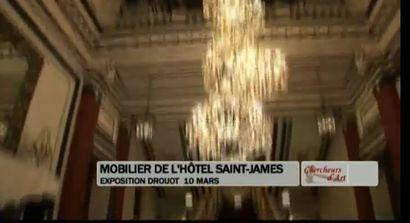 Vente mobilier Hôtel Saint James