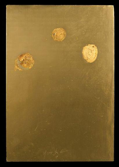 Yves Klein's gold