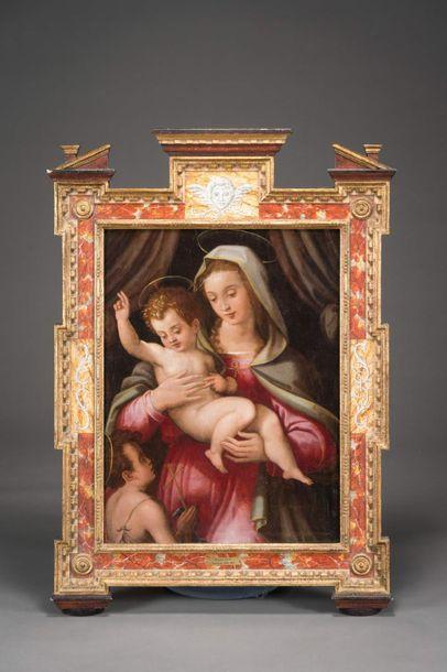 Niccolo BETTI (vers 1550-1617) Vierge à l'enfant