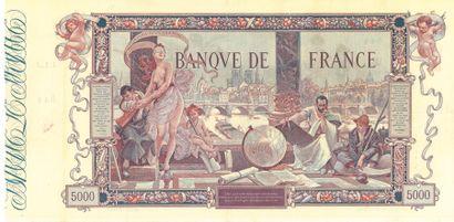 IMPORTANTE COLLECTION DE BILLETS  DE LA BANQUE DE FRANCE ET DU TRESOR