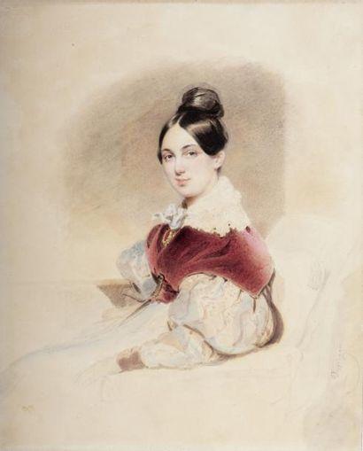 """UN ENSEMBLE EXCEPTIONNEL DE PORTRAITS DES """"INVITES"""" DU CHANCELIER METTERNICH (Coblence, 1773 - Vienne, 1859)"""