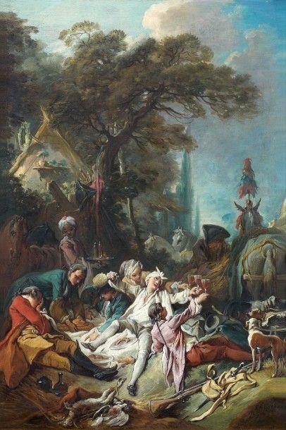 Préempté à 123 920 € frais compris par le Musée du Louvre