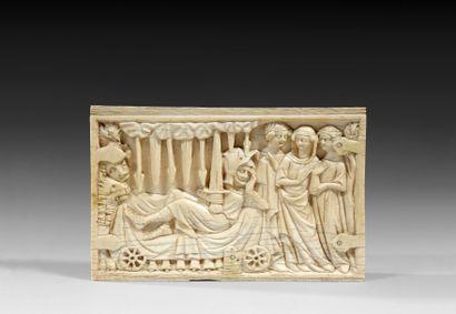 Préempté à 45 850 € frais compris par le Musée du Louvre