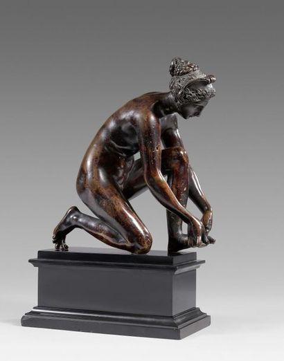 PRÉEMPTION PAR LE MUSÉE DU LOUVRE POUR LA TIREUSE D'ÉPINE DE PONCE JACQUIO (1515-1570) À 1 460 500 € FRAIS COMPRIS