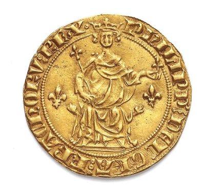 RECORD ! Le Florin d'or Philippe IV, Le Bel vendu 29 760 € !