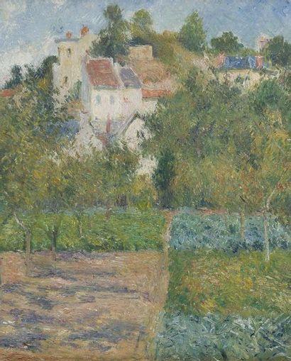 358.400€ pour un tableau inéditde Pissarro illustrant seséchanges artistiquesavec Cézanne