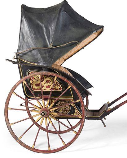 Succès d'enchère pour l'un des tout premiers pousse-pousse réalisé au XIXe siècle