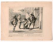 Claude GILLOT (1673-1722) Arlequin soldat…