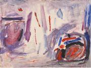 DOMINIK Tadeusz (1928 – 2014)  Paire de compositions...