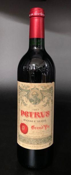 1 bouteille PETRUS, Pomerol 1997