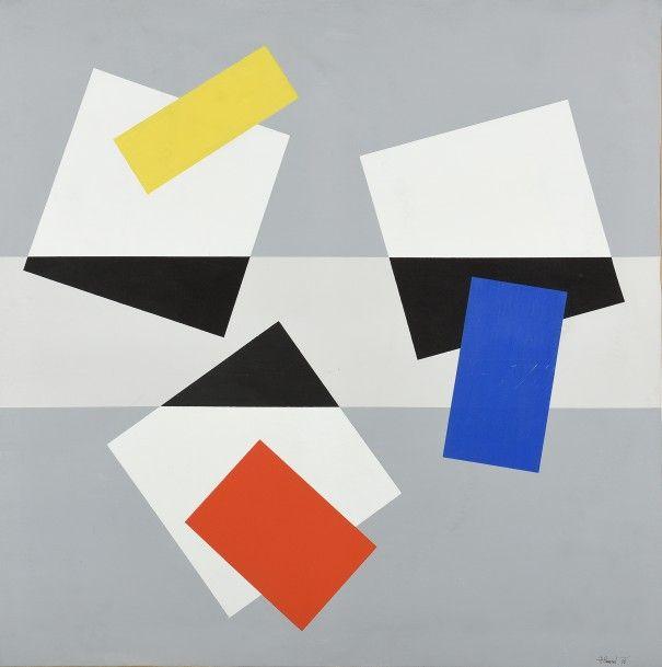 Joël FROMENT (1938)  Hommage à Matisse, 1985...
