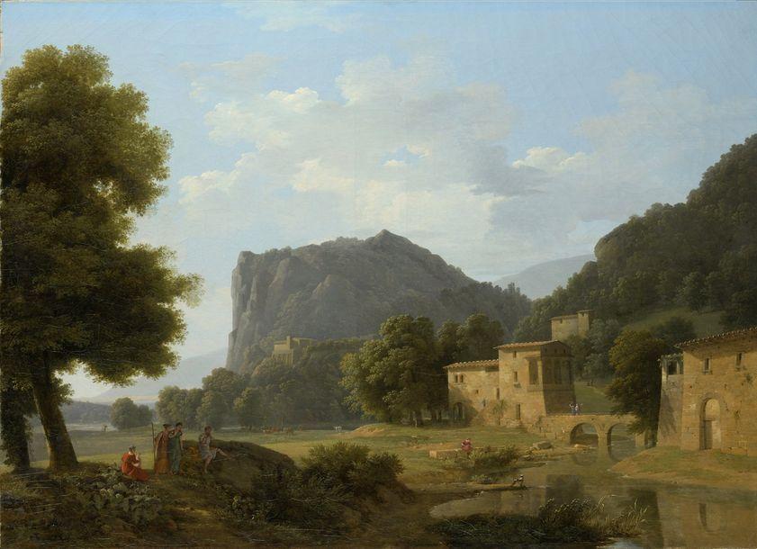 Jean Victor BERTIN (1767-1842)   Paysage...