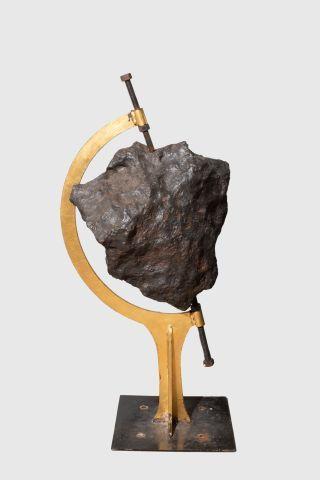 Importante et rare météorite de Campo del...