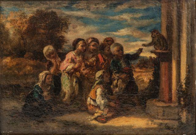 Narcisse DIAZ DE LA PENA (Bordeaux 1807 -...
