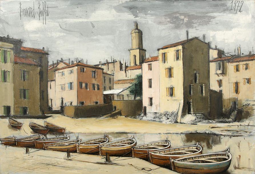 Bernard BUFFET (1928-1999)  Saint-Tropez,...