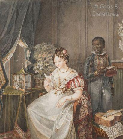 Hendrick ROCHUSSEN Le Vieux (1779-1852) La...