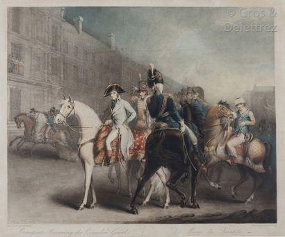 Turner d'après Masquener Bonaparte reviewing...