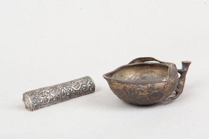 Chine, XVIIIe siècle  Godet de peintre en...