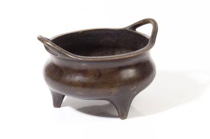 Chine, XIXe - début XXe siècle  Brûle-parfum...