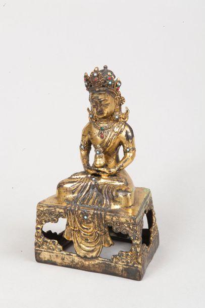 Chine, dans le style de Qianlong  Statuette...