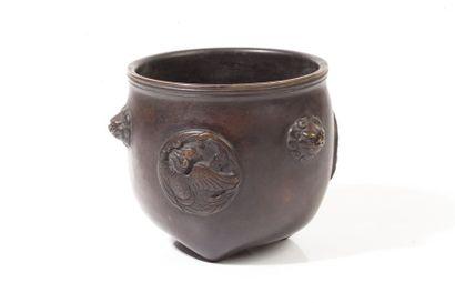 Chine, début XXe siècle  Brûle-parfum en...