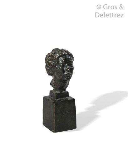 D'après Antoine BOURDELLE (1861-1929) Tête...
