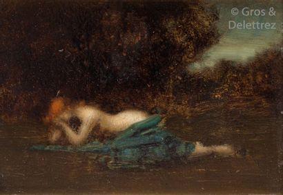 Attribué à Jean Jacques HENNER (1829-1905)...