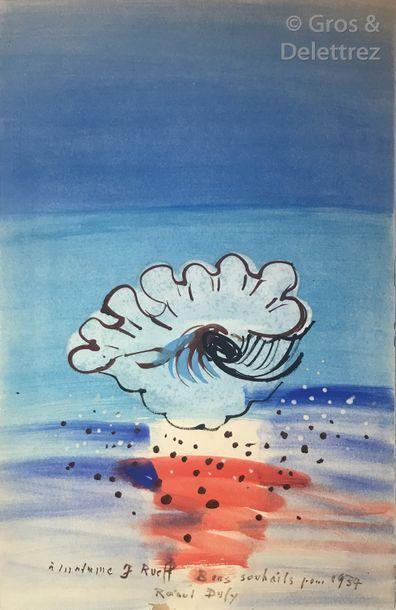 Raoul Dufy (1877-1953) Le Coquillage, 1934...