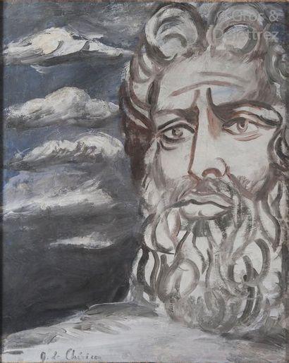 Giorgio de CHIRICO (1888-1978) «Et Dieu vit...
