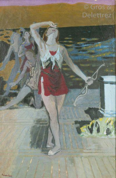 Maurice BRIANCHON (1899-1979) Danseuses,...