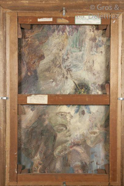 Maurice BRIANCHON (1899-1979) Danseuses, 1942 Huile sur toile. Signée en bas à gauche....
