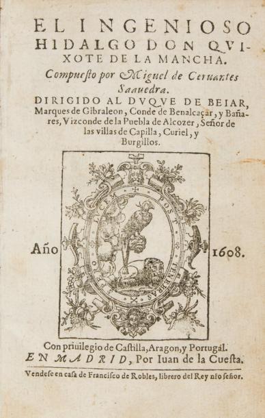 CERVANTES (Miguel de)