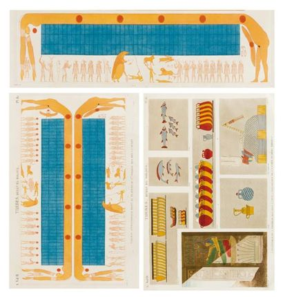 DESCRIPTION DE L'EGYPTE ou Recueil des observations...